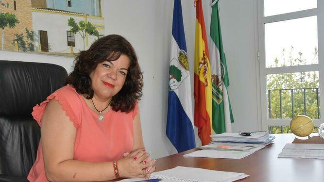 María Eugenia Moreno, en en el despacho de la Alcaldía. / D. S.
