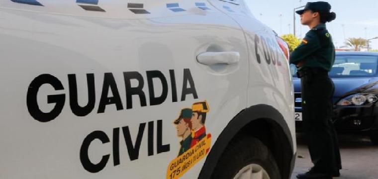 Una imagen de archivo de la Guardia Civil - ABC