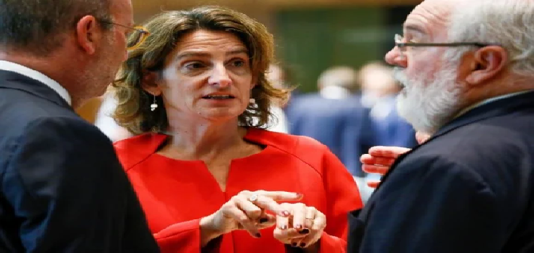 Teresa Ribera, ministra de Transición Ecoógica. / EFE
