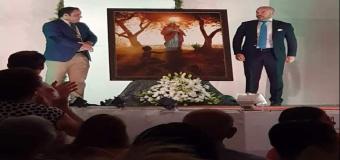 Fernando Vaquero recrea el milagro de la Virgen de la Sangre de Huévar en su espectacular nueva obra