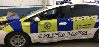 Detenido por intentar agredir con un martillo a policías en La Puebla de Cazalla, Sevilla