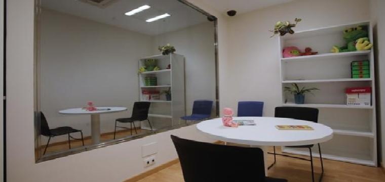 Sala Gesell instalaad en los juzgados de Sevilla - Raúl Doblado