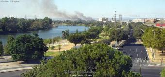 ¿Por qué olía a quemado esta madrugada en Sevilla?