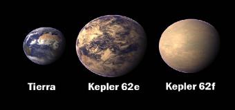 Los tres planetas más parecidos a la Tierra