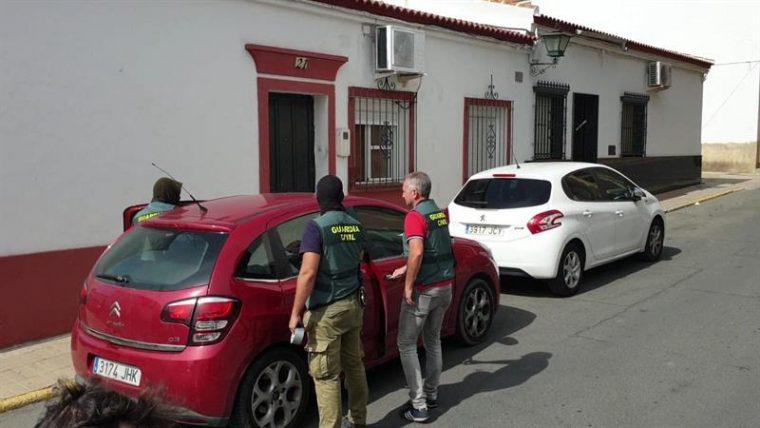 15/10/2019 Vehículo incautado en Bollullos del Condado en la macrooperación contra el tráfico de hachís ESPAÑA EUROPA ANDALUCÍA SOCIEDAD GUARDIA CIVIL