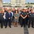 La consejera de Transparencia, Participación y Administración Pública, Beatriz Ballesteros, con responsables de Seguridad Ciudadana y del cuerpo de Policía Local