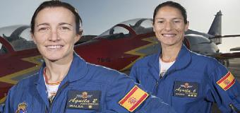 Las dos Top Gun que volarán con la Patrulla Águila
