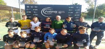 HUÉVAR – El joven tenista hervense José Dronov Merlo campeón de Andalucía de tenis dobles