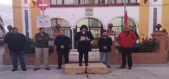 El Ayuntamiento de Huévar homenajea a la Constitución con un acto en la Plaza de España