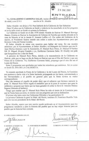 CALDERETAS 2020