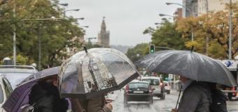 Este fin de semana prepara tu paraguas en Sevilla