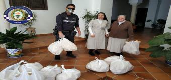 La solidaridad de la Cooperativa Panadera Hervense y del Doctor Miguel Fernandez