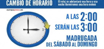 El cambio de hora llega en el peor momento