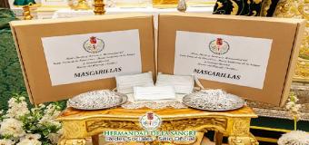 La Hda de la Sangre de Huévar colabora con el Hospital San Juan de Dios de Bormujos