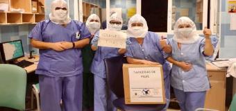 La localidad de Pilas entrega 20.000 equipos de protección individual a centros sanitarios de Andalucía, Extremadura y Madrid