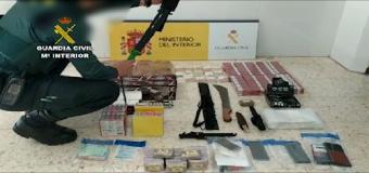Tres detenidos por contrabando de tabaco que vendían en un piso de Pilas (Sevilla)