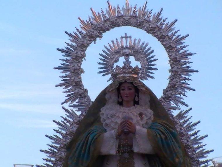 Ntra Sra de la Asunción - Patrona de Huévar