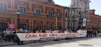 Adelante Huévar califica de Graves perdidas económicas para Huévar del Aljarafe, la política de Recortes  que está llevando a cabo el PP al frente de la Junta de Andalucía