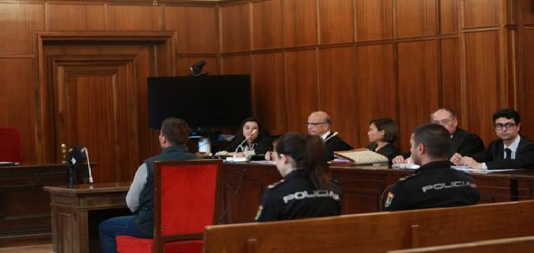 Enrique Romay, en el juicio en la Audiencia de Sevilla, en una imagen de archivo - Vanessa Gómez