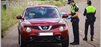Los Policías Locales de Huévar multan por ir sin mascarilla