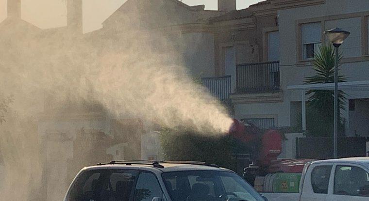 Fumigación contra el Mosquito del Nilo