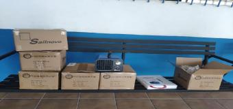 El Grupo Adelante Huévar compra generadores de ozono para los colegios, Guardería y Centro de Discapacitados