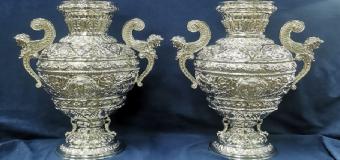 La Hdad del Rosario de Carrión reproduce las jarras que fueron robadas el pasado mes de enero