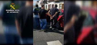 Detienen a un vecino de Huévar por presunto trafico de cocaína, heroína y marihuana
