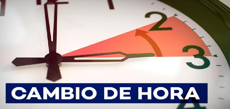 El próximo 25 de octubre habrá que retrasar una hora el reloj