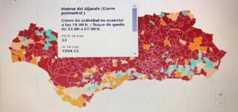 CORONAVIRUS – ANDALUCÍA  ¿Qué medidas se aplican contra el Covid en cada municipio de Andalucía?