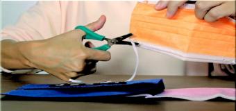 Antes de tirar las mascarillas usadas deberías cortar las gomas