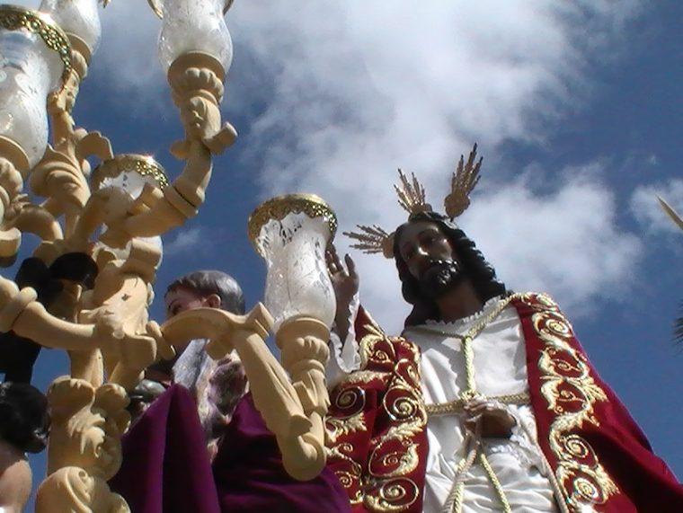 Santísimo Cristo del Amor en su Entrada Triunfal en Jerusalen.