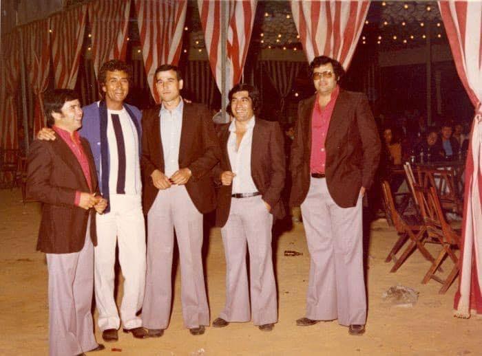 """antiguo grupo de sevillanas """"Los Pileños"""" hoy Grupo Brumas"""