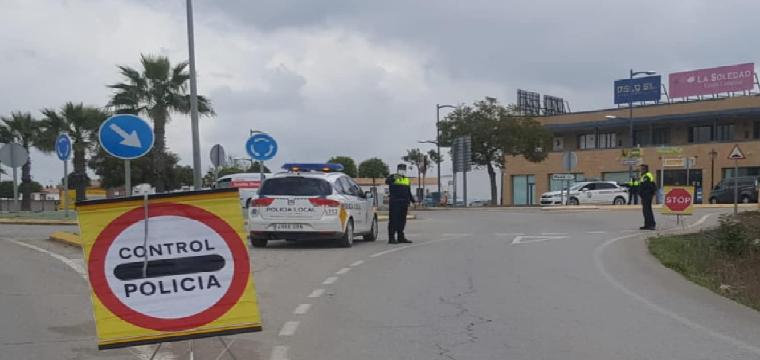 Control Policía Local de Pilas