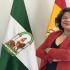La alcaldesa de Huévar, María Eugenia Moreno. - AYTO.HUÉVAR