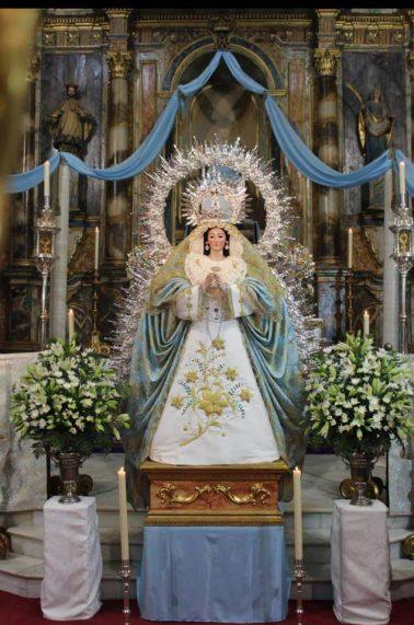 Ntra Sra de la Asunción Patrona de Huévar